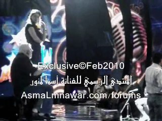 Asma Lmnawar - Layali Febrayer Backstage (Part 2) | أسما لمنور - كواليس مهرجان ليالي فبراير 2010