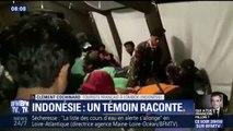 """Tremblement de terre en Indonésie:  """"on a vu tout bouger, la route se déformer, les arbres bouger, les pierres tomber"""" témoigne un touriste français"""