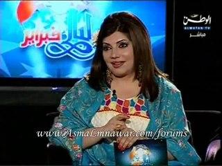 Asma Lmnawar - Interview   أسما لمنور - لقاء مهرجان ليالي فبراير 2010