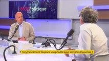"""""""Nicolas Hulot devrait être ministre de l'Ecologie, ça irait mieux dans le pays !"""" ironise Eric Coquerel (LFI)"""