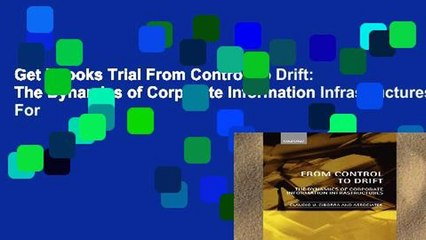 Get s  From Control To Drift The Dynamics Of Corporate Information Infrastructures For Full Movies