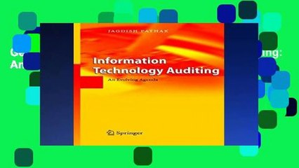 Get s  Information Technology Auditing An Evolving Agenda Any Format Full Movies