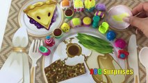 Yummy SHOPKINS Dinner Party Surprise Toy Egg Shopkins Collecton Come Join Learning Fun