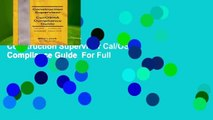 Trial New Releases  Construction Supervisor Cal/OSHA Compliance Guide  For Full