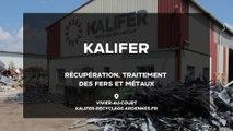 Kalifer : récupération, traitement des fers et métaux dans les Ardennes