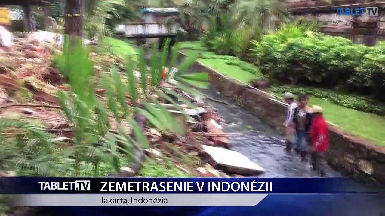 Zemetrasenie na indonézskom ostrove Lombok má najmenej 142 obetí