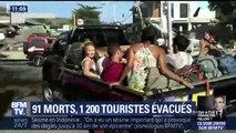 Indonésie: le tremblement de terre a surpris les touristes qui tentent à présent de quitter les lieux dévastés