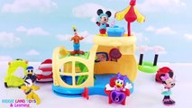 Mickey Mouse Clubhouse Fixn Fun Garage Learn Colors Crayon Toy Surprises! Fun Nursery Rhy
