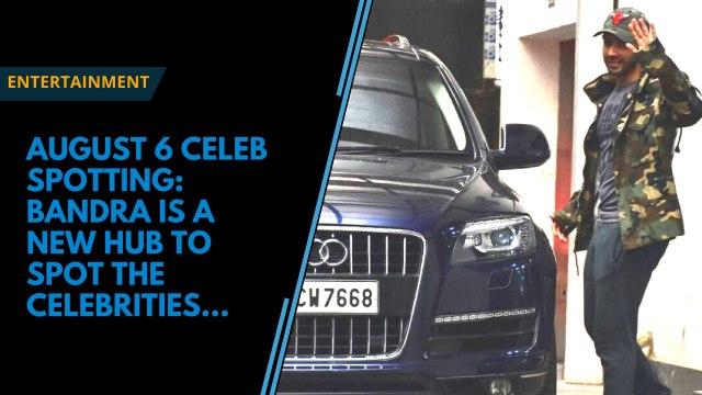 Celeb Spotted: Varun Dhawan, Karan Johar share a light moment and more
