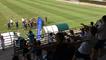 Clapping des Bleuettes avec les jeunes des clubs de foot