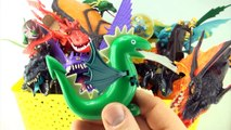 Box of Dragons collection Dragon toy box collection How to Train Your Dragon toys