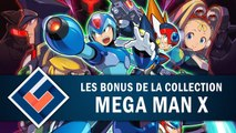 MEGA MAN X LEGACY COLLECTION : Quels bonus sont proposés ? | GAMEPLAY FR