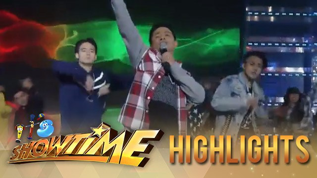 It's Showtime: Ogie Alcasid and Hashtags Jameson and Jimboy's suave performance!