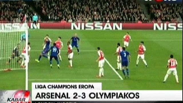 Arsenal Dipermalukan Olympiacos Lewat Drama 5 Gol