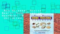 New Releases Basics Basics Home Freezing Handbook (Basic Basics)  Unlimited