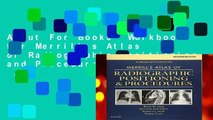 About For Books  Workbook for Merrill s Atlas of Radiographic Positioning and Procedures, 13e  Any