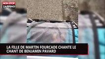 Martin Fourcade : sa fille chante le chant de Benjamin Pavard, la vidéo trop mignonne