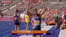 Kevin Mayer, champion du monde de décathlon, se rate complètement à Berlin (vidéo)