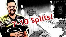 """Jason Belmonte: """"I just spare my first 7-10 split ever!!! It's a great birthday""""!"""