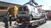 İstanbul- - Başakşehir'de Ehliyetsiz Sürücü Hafriyat Kamyonuyla Dehşet Saçtı 4