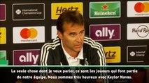"""Real Madrid - Lopetegui : """"Nous sommes très satisfaits de Keylor Navas"""""""