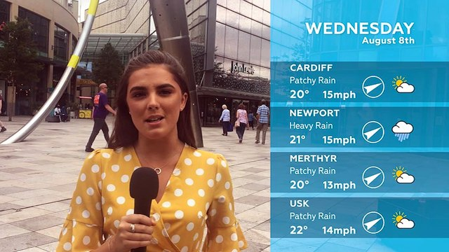 WEATHER: August 8th 2018