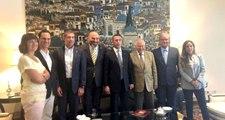Fenerbahçe Başkanı Ali Koç, Lizbon Büyükelçisi Mehmet Hasan Göğüş'ü Ziyaret Etti