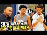 Cole Anthony & Jalen Green GET STEPH CURRY HYPE During Scrimmages at #SC30SelectCamp!!