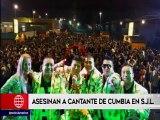 San Juan de Lurigancho: cantante de cumbia fue asesinado a balazos