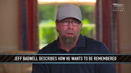 Jeff Bagwell Describes How He Wants to Be Remembered
