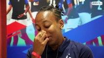 U20 Féminine, Mondial 2018 : Emelyne Laurent vue par... Emelyne Laurent (1/2), interview l FFF 2018