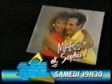 TF1 - BA Marc et Sophie + speakrine - 1987