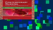 Best ebook  Contemporary Nursing: Issues, Trends,   Management, 7e  Unlimited