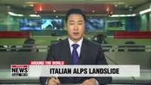 2 dead, 200 evacuated after landslide hits Italian Alps