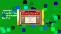 Full version  Comptia Security+ All-In-One Exam Guide, Fifth Edition (Exam Sy0-501)  For Full