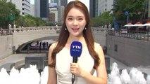 [날씨] 오늘도 푹푹 찐다, 서울 34.7℃...내륙 강한 소나기 / YTN