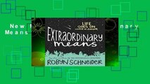 New Releases Extraordinary Means  For Kindle