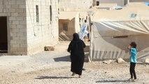 El-Bab-Hd) - Esad'ın Bombalarından Kaçan Doğu Gutalı Ailelere Vantilatör Dağıtıldı- Suriye Rejimi...