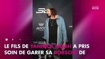 Yannick Noah : Nu, son fils Joakim se change en pleine rue (Photos)