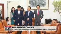 S. Korea's three main parties reach agreements ahead of August session