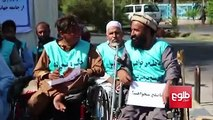 PEACE – a group of over 20 disabled people from Herat will make their way to Kabul on foot and in their wheelchairs in support of peace. Before leaving Herat, m