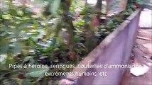 Bruxelles : nouvelle vidéo ultra trash de drogués au quartier Alhambra