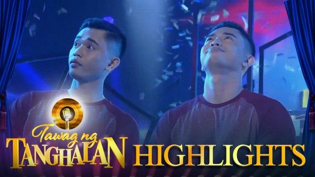 Tawag ng Tanghalan: John Andrew Manzano steals the golden microphone!