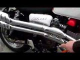 Triumph Bonneville Evel Knievel replica