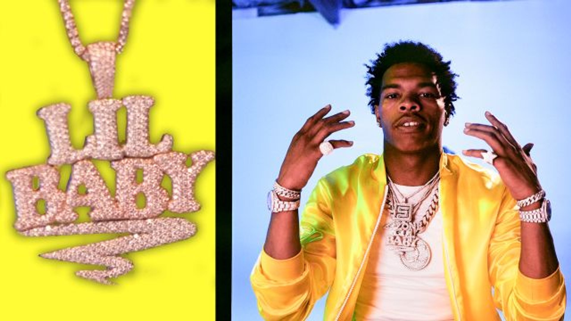 Your New Favorite Rapper, Lil Baby, Shows Off His Favorite Jewelry
