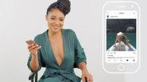 Aisha Dee Insta-Stalks Her Castmates