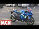 Suzuki GSX-R1000R on-board lap Brands Hatch| Long Term Update | Motorcyclenews.com