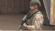 Des casques bleus canadiens déployés au Mali