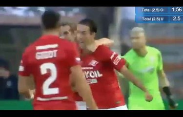 PAOK Thessaloniki FC vs Spartak Moscow 3-2 All Goals Highlights 08/08/2018