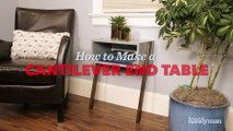 How To Build An End Table Video